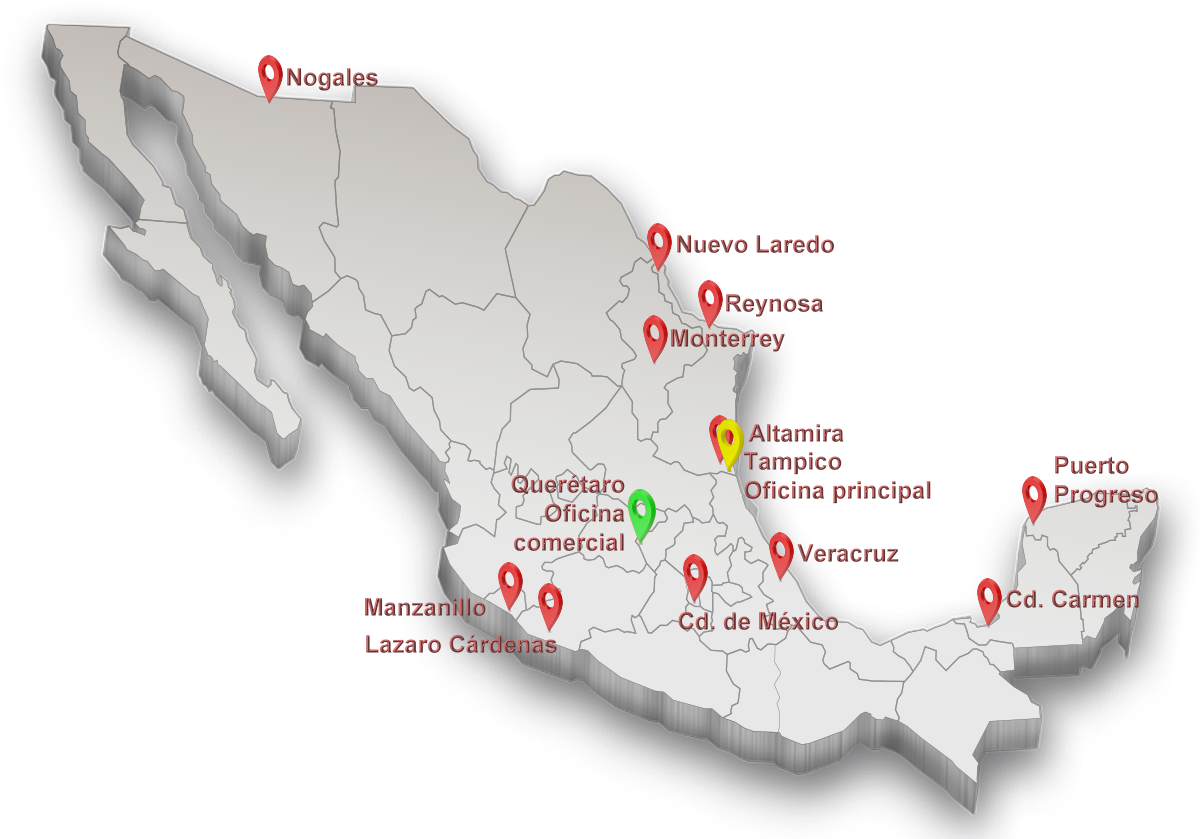 Mapa México 3D